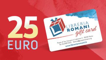 Clicca per aggiungere la gift card da 25 euro al carrello
