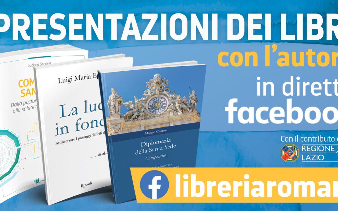 """Progetto """"Un libro previene"""": presentazioni editoriali dalla Libreria Romani"""