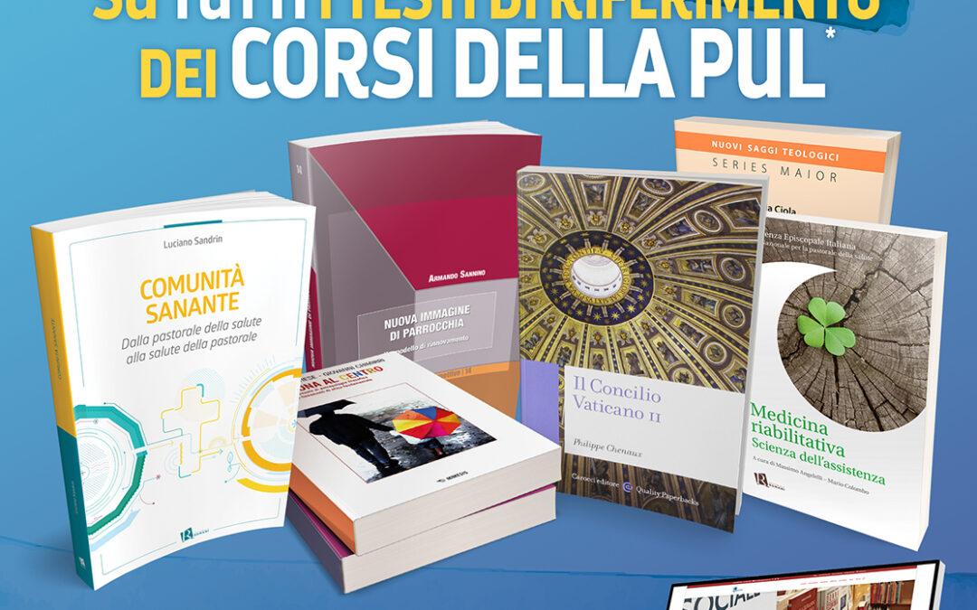 Speciale promozione sui testi di riferimento PUL